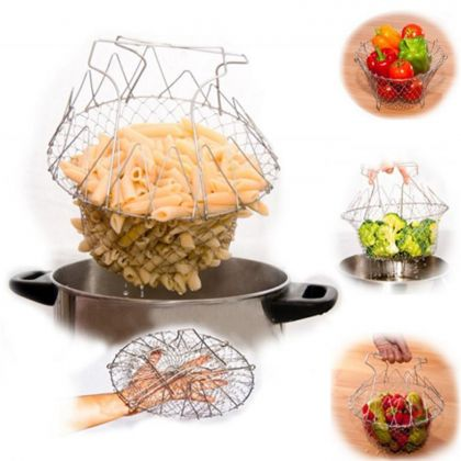 Durable Chef Basket For Easy Storage